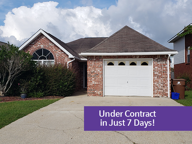 SOLD:  12649 Cody Drive, Gulfport, MS